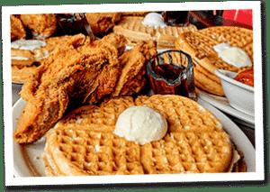 Lo-Los chicken and waffles